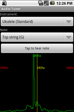 Audio Tuner 2.0 Screenshot