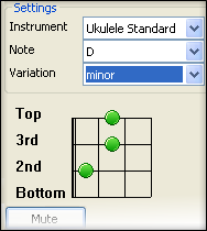 Chord Finder for Ukulele