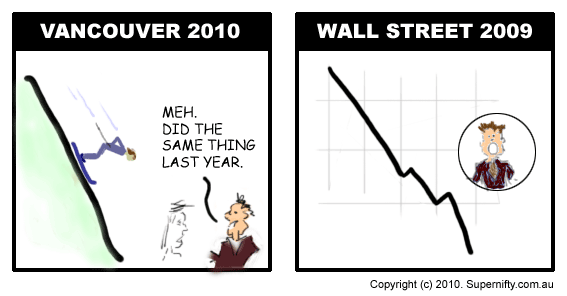Vancouver vs Wall Street - Supernifty Comic #4