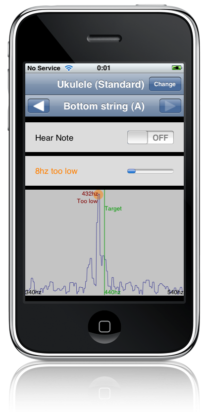 Audio Tuner on the iPhone